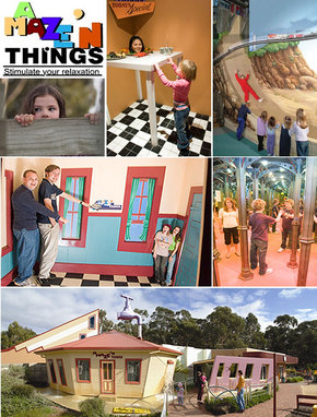 A Maze 'N Things - Victoria Tourism